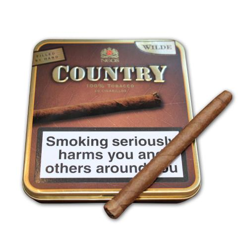 Neos Country Wilde Cigarillos – 10 x Tins of 20